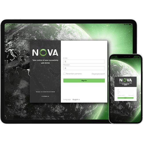 NOVA M2M SIM management available on all devices
